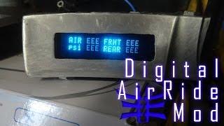 Modified Dakota Digital Air Gauge - Focal Vip Infiniti G35 Build