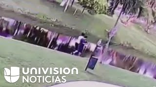 Exclusiva: El Video Que Muestra Cómo Una Madre, Acusada De Asesinato, Lanzó A Su Hijo A Un Canal