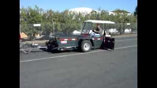 Jacobsen trailer Selma hydraulic trailer