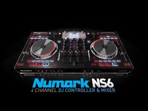 Numark NS6. The revolution is here. Control yourself.