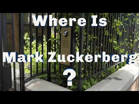 Mark Zuckerberg's House - Facebook CEO Has A Wall Why Can't America?