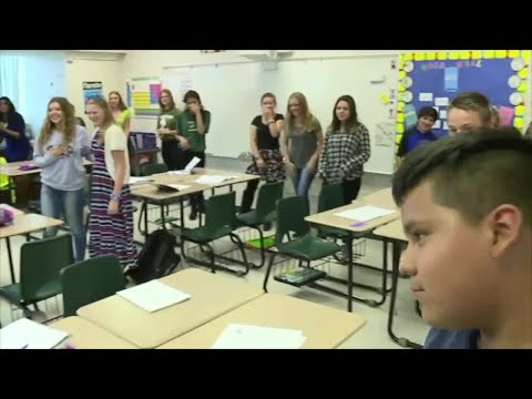 Allen Park Students learning to fight active shooters