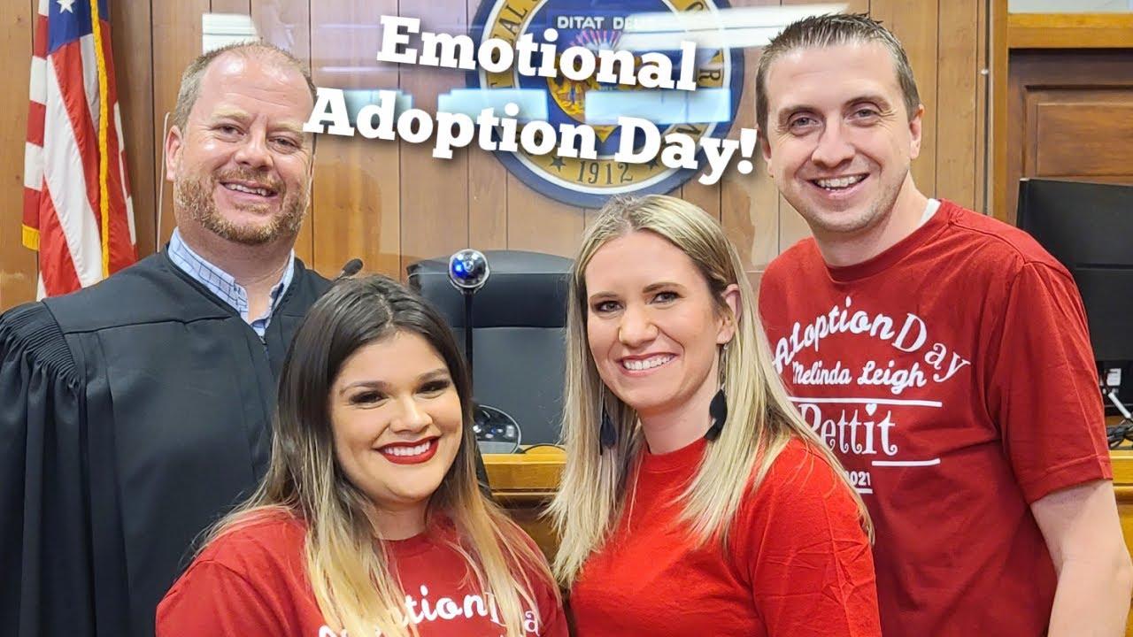 Emotional ADOPTION Day ! | Adult Adoption