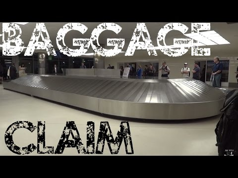 Baggage Claim Carousel at the Birmingham Airport BHM
