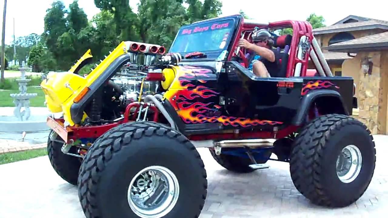 Jeep Renegade Lifted >> 1987 custom show jeep - YouTube