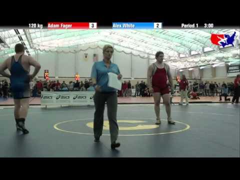 Adam Fager vs. Alex White at 2013 ASICS University Nationals - FS