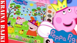 PEPPA PIG | MALOWANY ŚWIAT | KOLOROWY SAD | ZABAWA FARBKAMI!