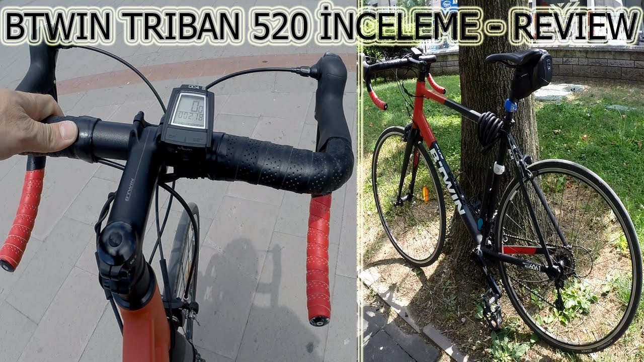Btwin Triban 520 inceleme - Review