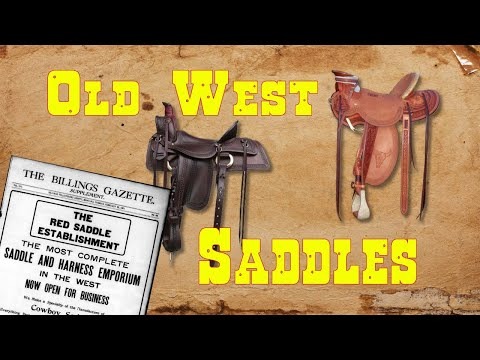 Old West Saddles