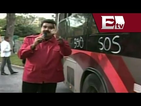 """Maduro no sabe el significado de SOS, lo toma como un """"ataque fascista"""" / Titulares de la noche"""