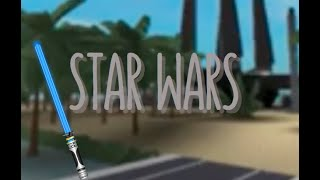 I'M KYLO REN AND REY!!!!! Roblox: hereos vs. villians Star Wars
