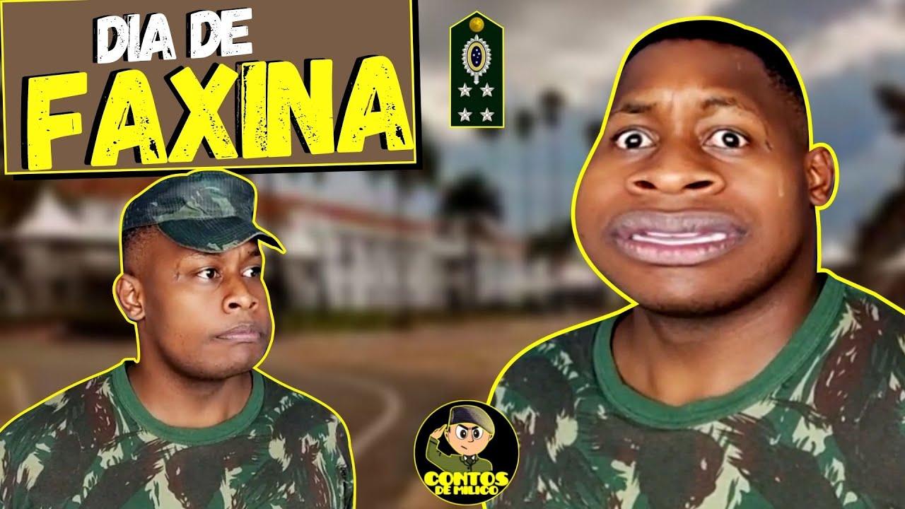 🔰 Faxina Para Visita De General (Exército Brasileiro)