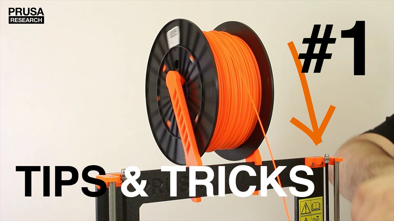 The right way to insert a filament - Tips and Tricks #1 [3D Print]