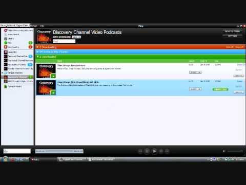Miro Media Center/TV player for PC