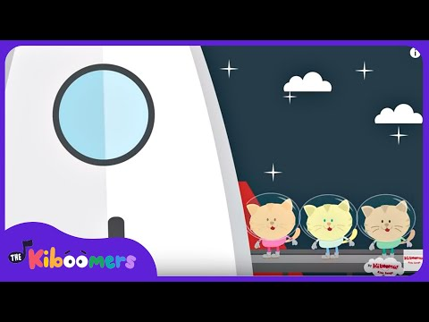 Zoom Zoom Zoom We're Going to The Moon Song | Rocket Song fo