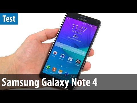 Samsung Galaxy Note 4 im PC-WELT-Test | deutsch / german