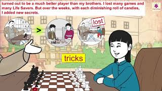 The Rules Of The Game by Amy Tan | Motivational English Story For Kids | Periwinkle