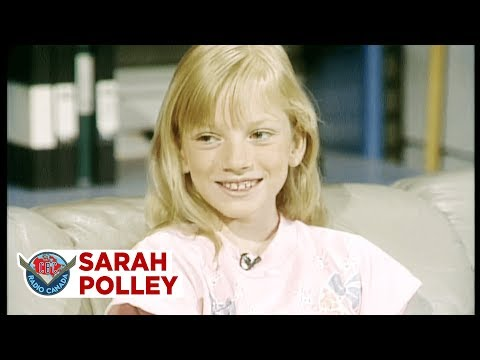 10 year old Sarah Polley reveals plans to win Wimbledon, 1989