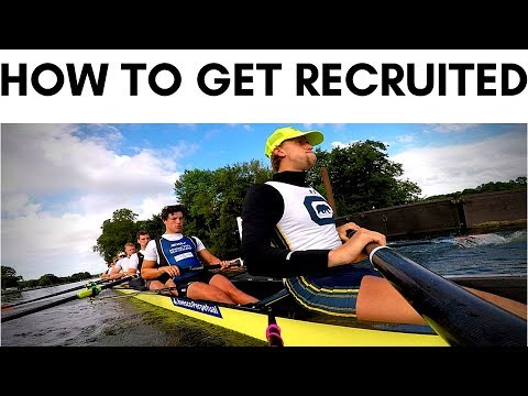 HOW TO GET RECRUITED TO US UNI FOR ROWING | VLOG 116