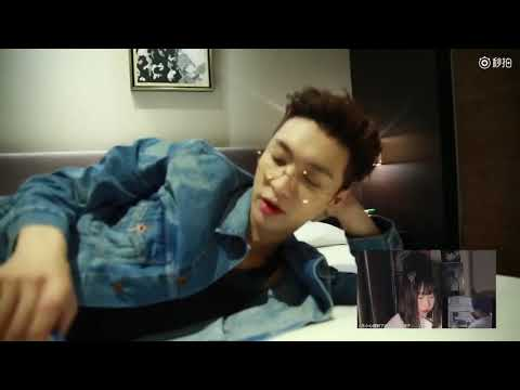 EXO Lay Reacting To Fans React To 'I NEED U'