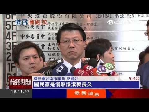 艱困選區推戰將 謝龍介「5度交手」陳亭妃|三立新聞台