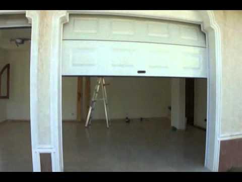 Altelsoft security system puerta de garaje seccional for Como hacer una marquesina para puerta de entrada