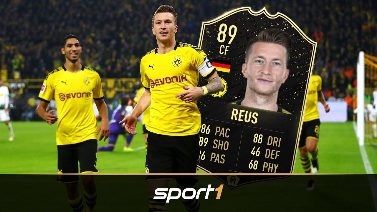 FIFA 20: Reus wird mit 89er Karte belohnt | @SPORT1 eSports & Gaming - FIFA News