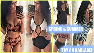 SPRING SUMMER HAUL-TRY ON! High Waist Bikinis, One Piece, Dresses- ASOS Victorias Secret Windsor