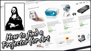 How to find a Projector for Art ■ Tracing Masterpieces