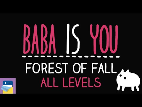 Baba Is You: Forest of Fall Walkthrough All Levels & PC/Switch Gameplay (by Arvi Teikari / Hempuli)