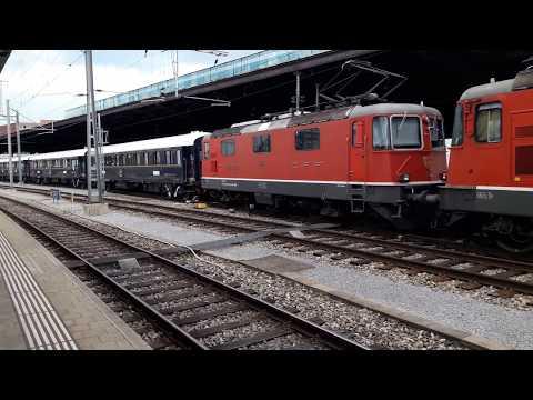 European VSOE Orient Express departing Basel SBB 7/7/17