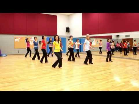 Ain't Giving - Line Dance (Dance & Teach in English & 中文)