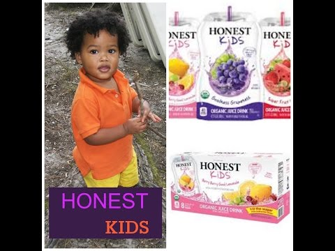 Portable Organic Juice Drink: Honest Kids