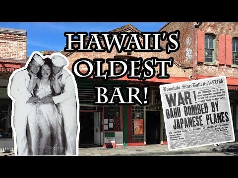 Oldest Bar in Hawaii - Smith's Union Bar in Honolulu