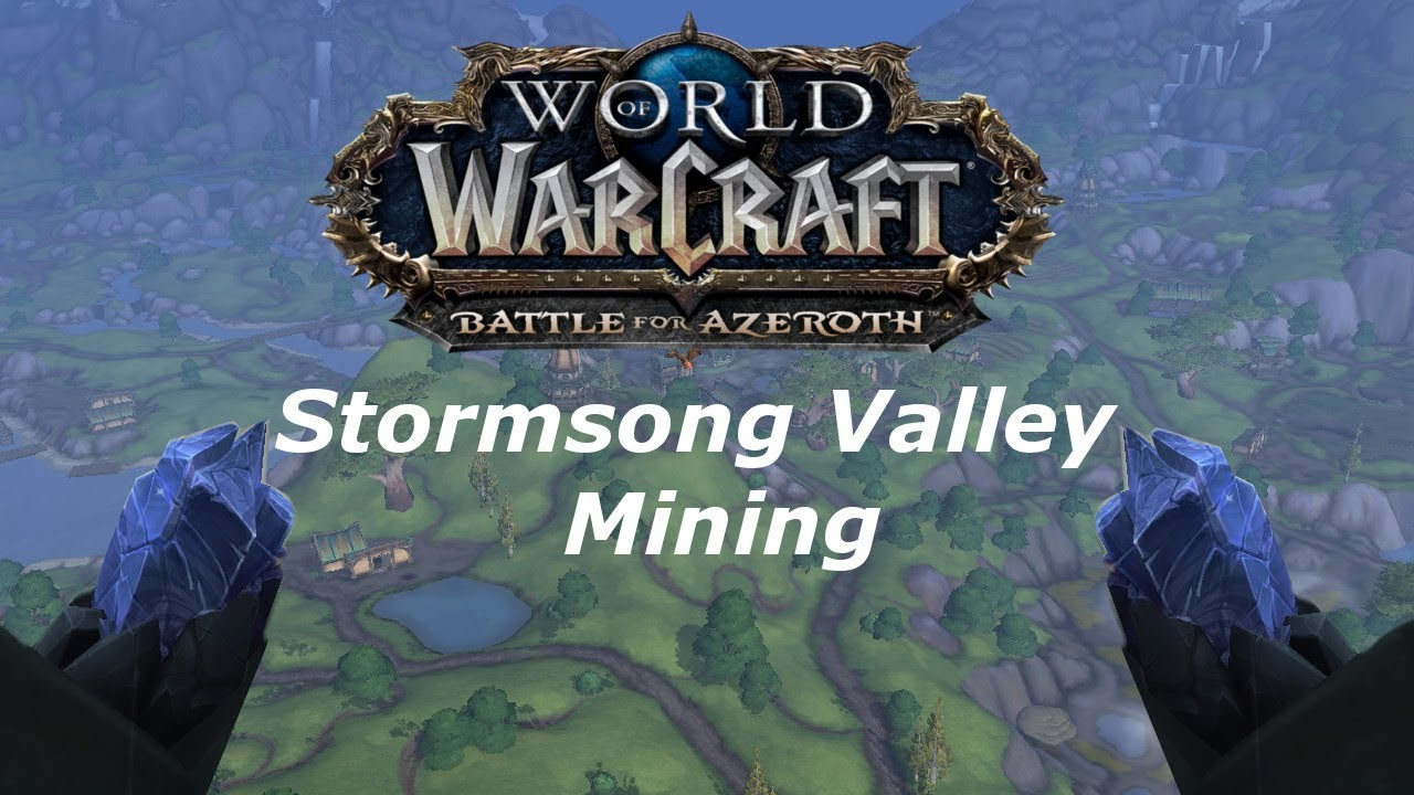 World Of Warcraft: Battle For Azeroth Mining Guide ...
