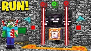 TRAPPING THE WITHER STORM MINECRAFT BOSS!