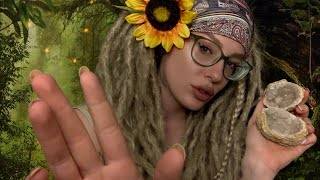 """ASMR Hippie """"Blue"""" Does Your ENERGETIC Makeup"""
