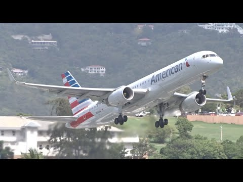 Boeing 757 Takeoff Compilation | RB211 vs. PW2000 | St. Thomas Cyril E. King Airport