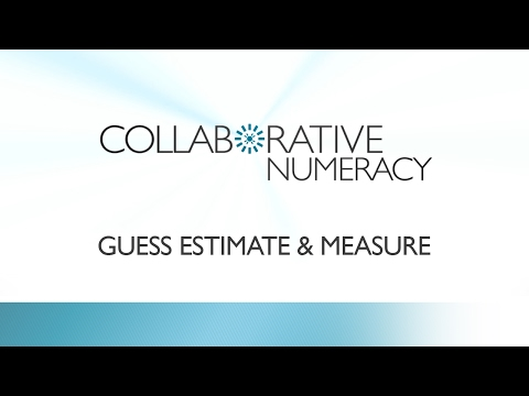 Guess, Estimate and Measure