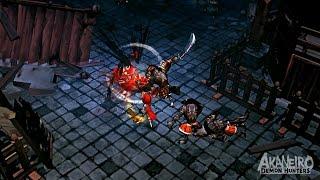 Akaneiro demon hunters gameplay