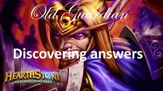 Hearthstone S37 Dragon Priest vs Sherazin Miracle Rogue - Discovering answers