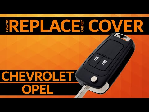 OPEL / CHEVROLET - How to replace car key cover