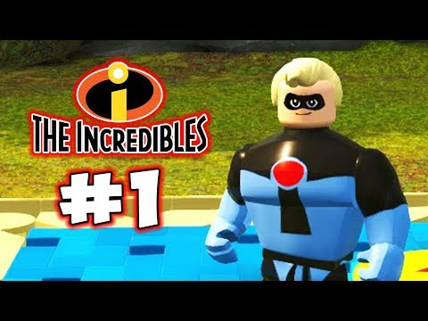 LEGO INCREDIBLES - LBA - Pixar Characters! - Episode 1