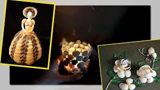 Best DIY Seashell Decor Ideas - Sea Shell Craft Making Ideas. Crafts to Make and Sell