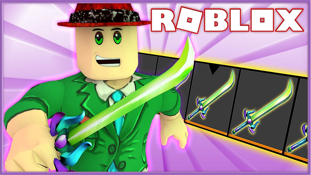 new easter exotic knife in assassin    roblox