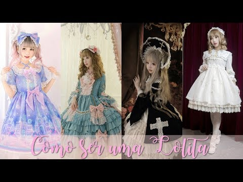 COMO SER UMA LOLITA | SUBESTILOS DA MODA LOLITA | ALTERNATIVE FASHION