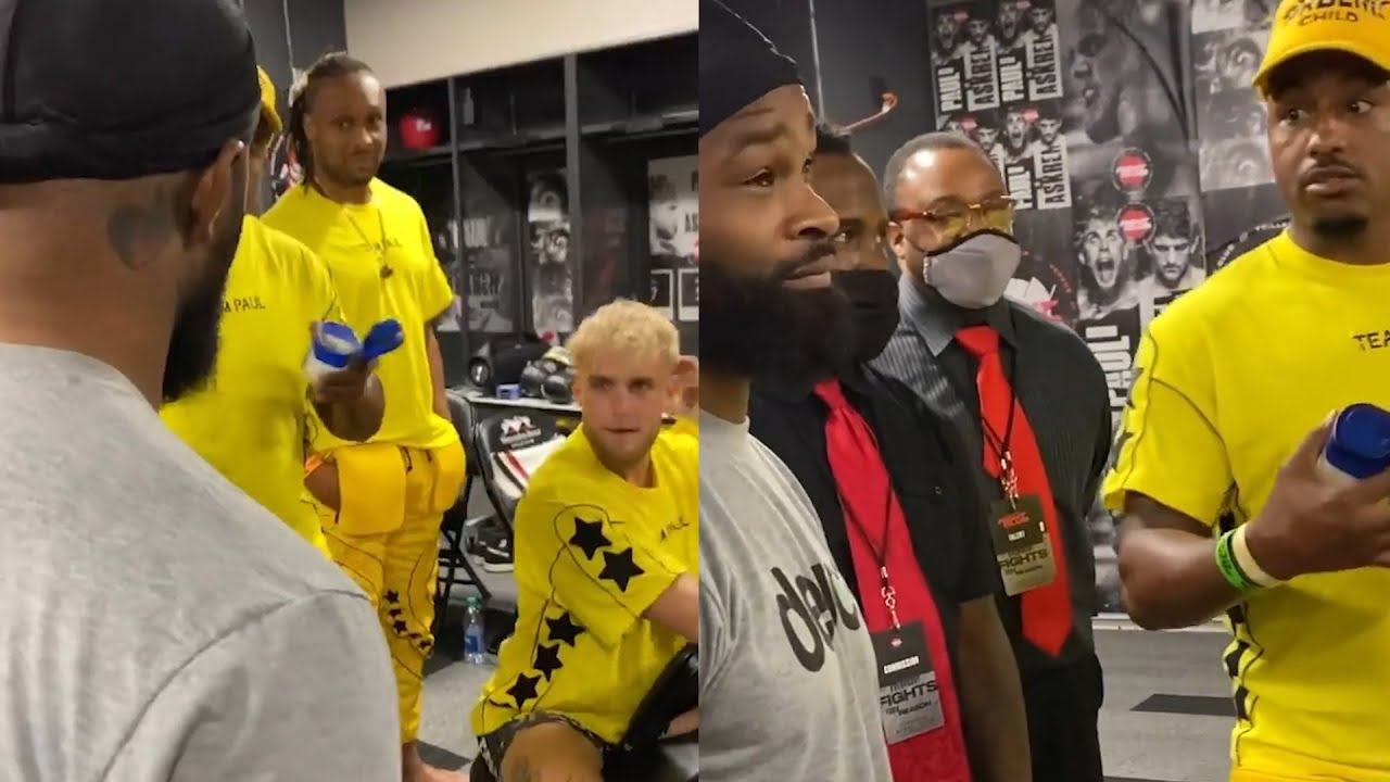 Yoel Romero claims Jake Paul backed out of fight after agreeing to ...