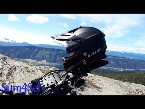 Installing BT Radio in LS2 Pioneer helmet |¦| Sum4Seb Motorcycle Video