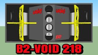 BOX SPEAKER B2 VOID 218