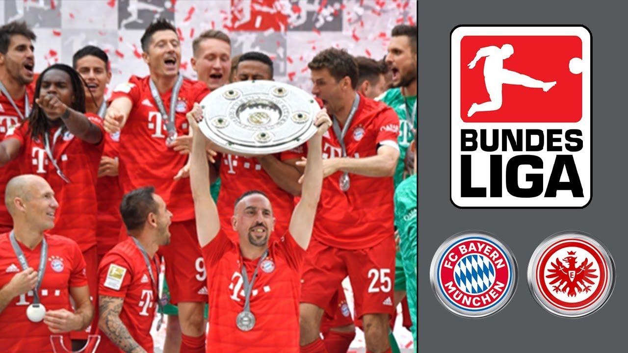 Bayern MГјnchen Eintracht Frankfurt 2021